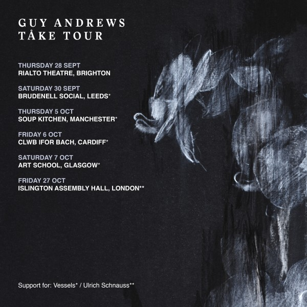 Guy Andrews - UK Tour 2017